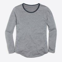 Supercomfy long-sleeve crewneck T-shirt