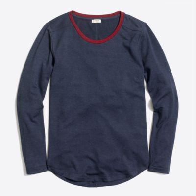 Supercomfy long-sleeve crewneck T-shirt   sale