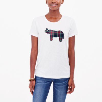 Tartan elephant collector T-shirt