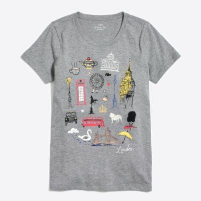 London destination collector T-shirt   search