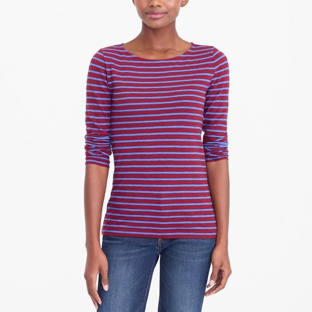 Striped artist T-shirt