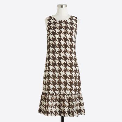 Ruffle-hem dress   sale