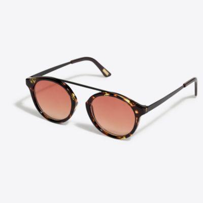 Floating top-bar sunglasses