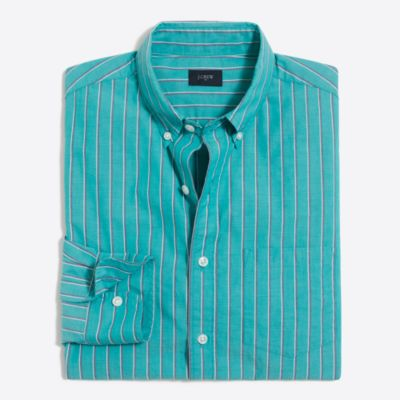 Washed striped shirt   sale