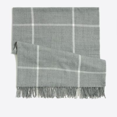 Plaid blanket scarf factorywomen cold-weather accessories c