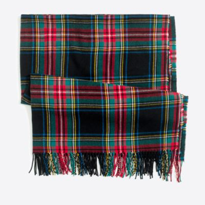 Plaid blanket scarf factorywomen extra-nice list deals c