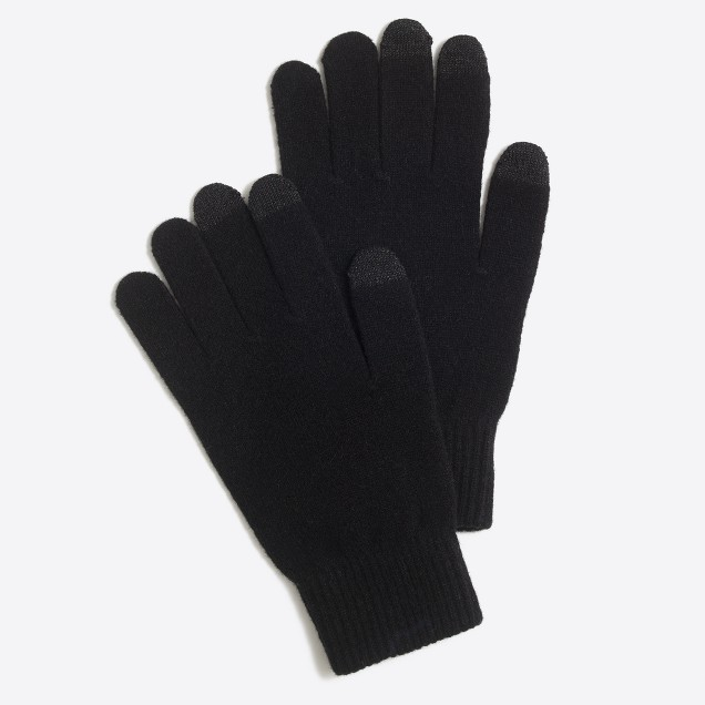 Wool touch tech gloves