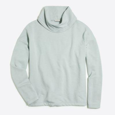 Tunnelneck pullover sweatshirt factorywomen knits & t-shirts c