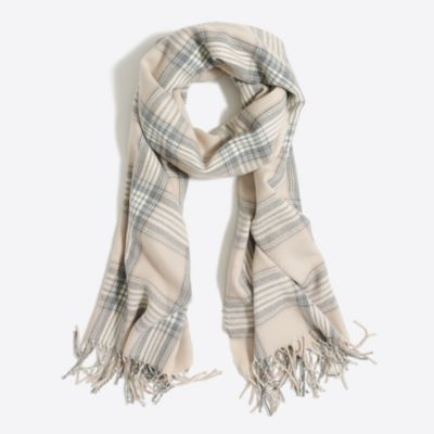 Classic plaid scarf factorywomen cold-weather accessories c