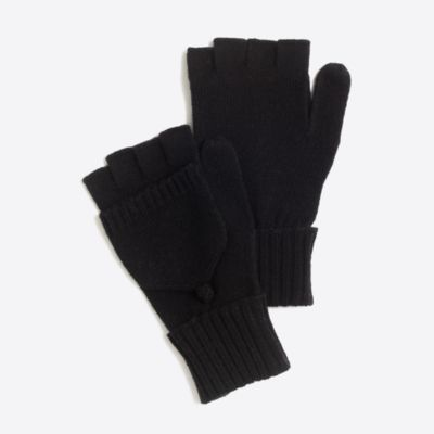 Ribbed glittens factorywomen cold-weather accessories c