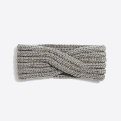 Cozy ribbed headband