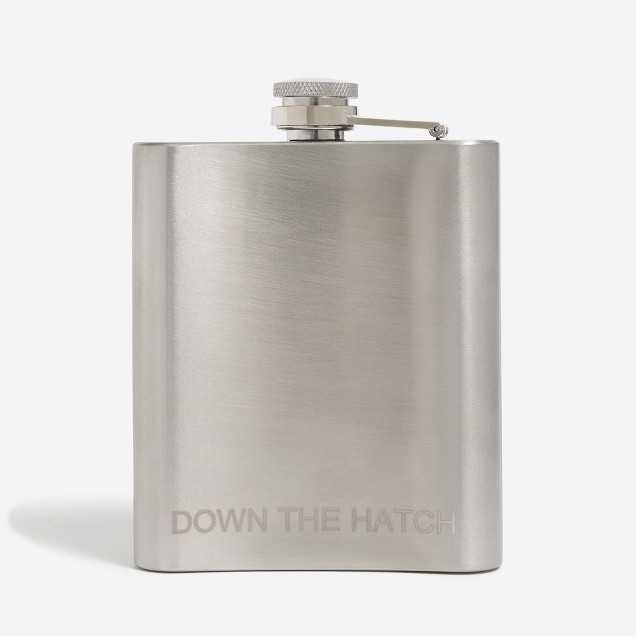Down the hatch flask