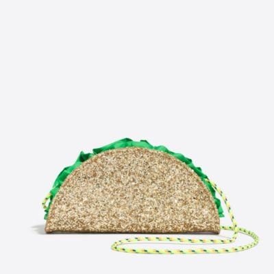 Girls' taco bag