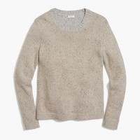 Lurex classic crewneck sweater