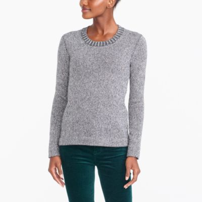 Lurex classic crewneck sweater factorywomen extra-nice list deals c