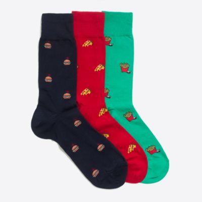 Holiday socks three-pack