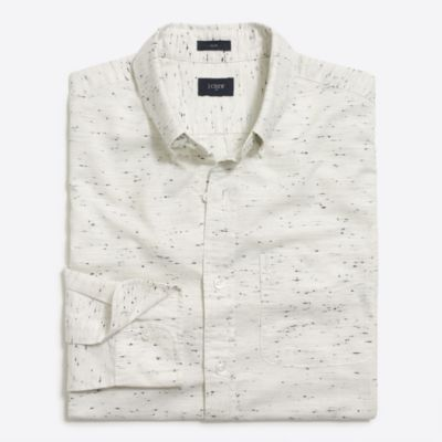 Marled cotton shirt factorymen new arrivals c