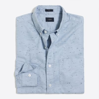 Marled cotton shirt factorymen casual shirts c