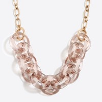 Circular link necklace