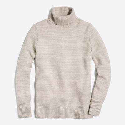 Space-dyed turtleneck sweater factorywomen new arrivals c