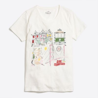 San Francisco collector T-shirt factorywomen new arrivals c