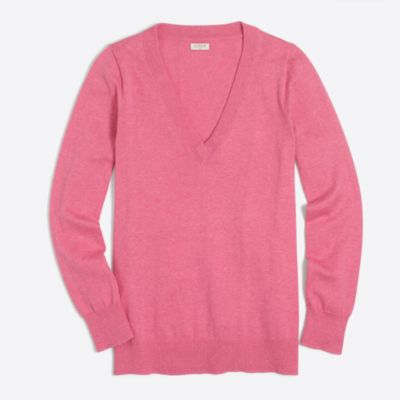 Cotton V-neck sweater factorywomen new arrivals c