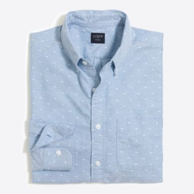 Slim flex oxford dobby shirt factorymen new arrivals c