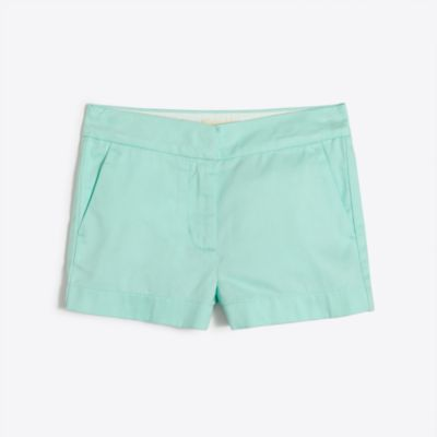 Girls' chino short factorygirls made-for-play basics under $25 c