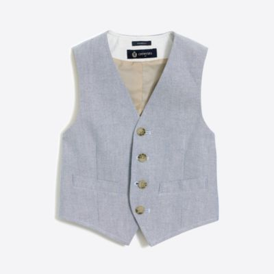 Boys' Thompson vest in oxford factoryboys online exclusives c