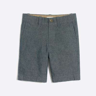 Boys' chambray Gramercy short factoryboys pants & shorts c