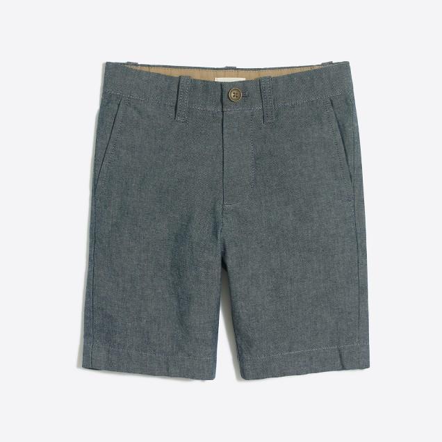 Boys' chambray Gramercy short