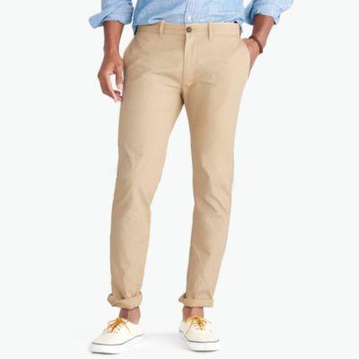 Driggs slim-fit lightweight chino factorymen the score: chino pants and flex oxford shirts c