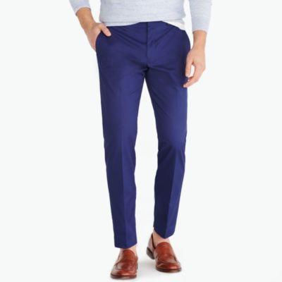 Slim-fit dress pant in flex chino factorymen thompson suits & blazers c