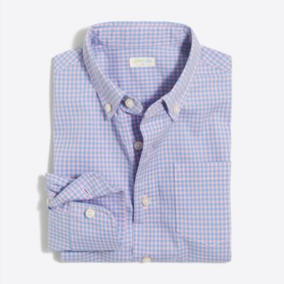 Boys' flex pattern washed shirt factoryboys online exclusives c