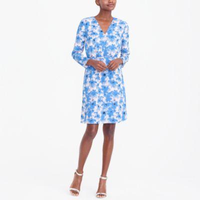Long-sleeve V-neck dress factorywomen new arrivals c