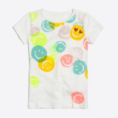 Girls' smiley keepsake T-shirt factorygirls shirts, t-shirts & tops c