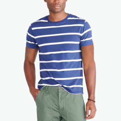 Cotton striped T-shirt factorymen new arrivals c
