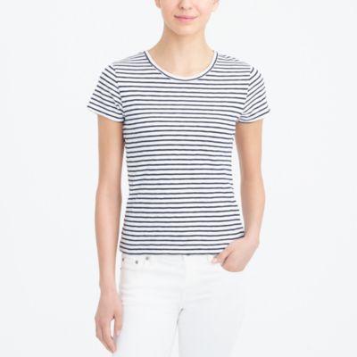 Striped studio T-shirt factorywomen knits & t-shirts c