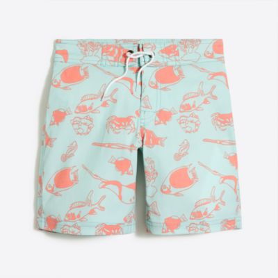 Boys' flex printed board short factoryboys new arrivals c