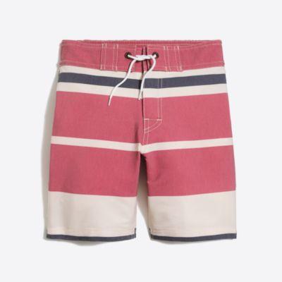 Boys' nautical stripe board short factoryboys online exclusives c