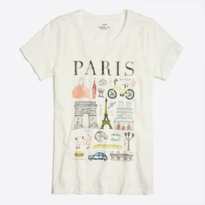 Paris collector T-shirt factorywomen new arrivals c