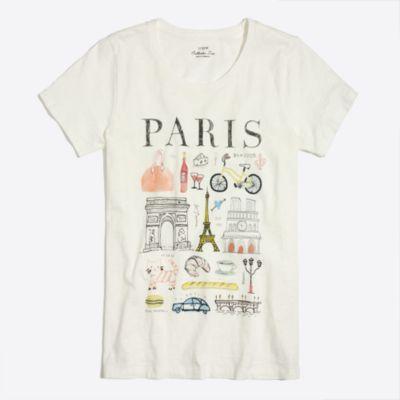 paris collector t-shirt : factorywomen graphic & collector t-shirts
