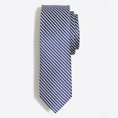 Silk seersucker tie factorymen ties & pocket squares c