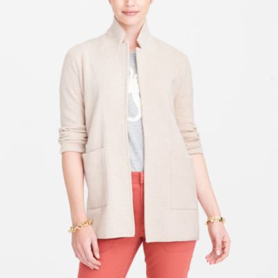 Open-front sweater blazer factorywomen jackets and blazers c