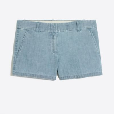"3 1/2"" chambray short   search"