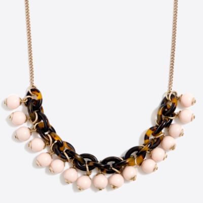 Tortoise link bauble necklace factorywomen jewelry c