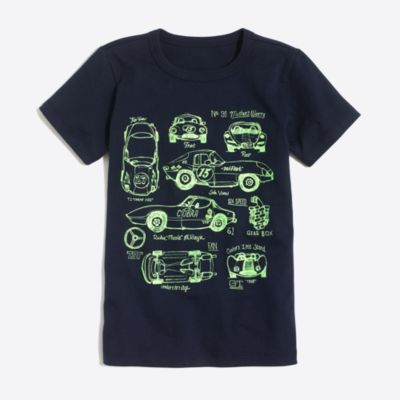 Boys' short-sleeve vintage race cars graphic T-shirt factoryboys knits & t-shirts c