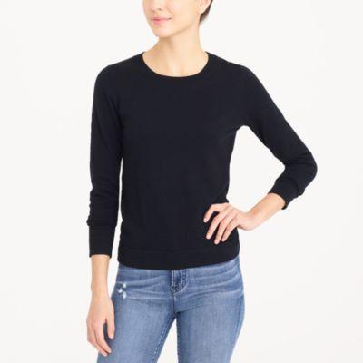 Slub cotton Teddie sweater factorywomen new arrivals c