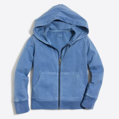 Boys' garment-dyed hoodie factoryboys online exclusives c