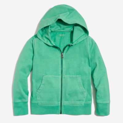 Boys' garment-dyed hoodie factoryboys knits & t-shirts c